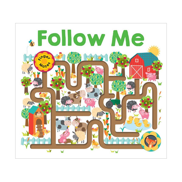 Follow Me: Maze Book (Board Books)