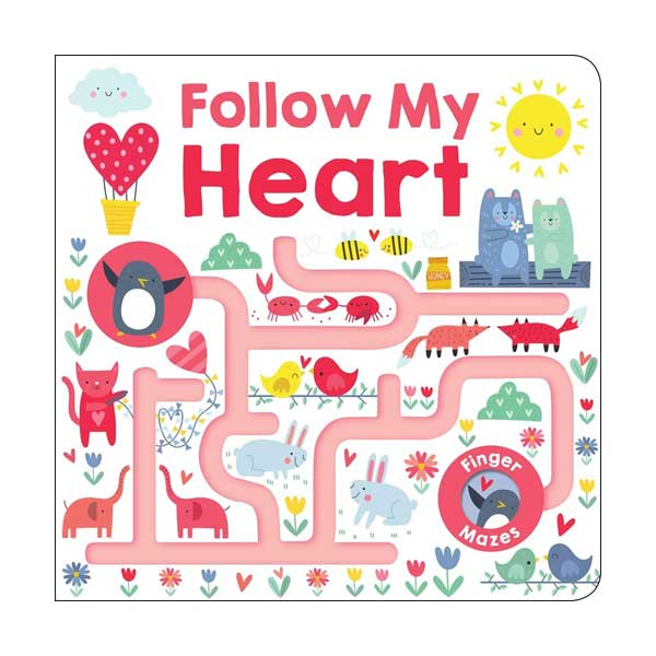 Follow My Heart : Maze Book (Board book)