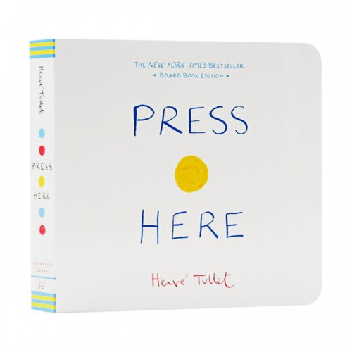 Herve Tullet : Press Here (Board Book)