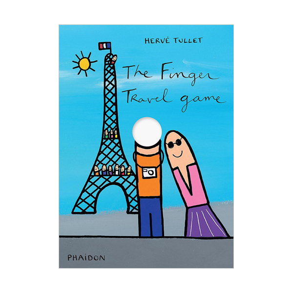 Herve Tullet : The Finger Travel Game (Board book, 영국판)