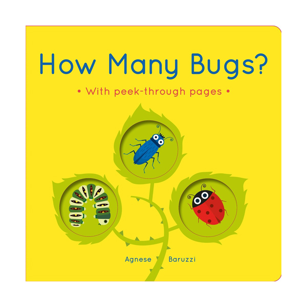 How Many Bugs? : A board book with peek-through pages (Board book, 영국판)