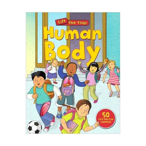 Human Body (Lift-The-Flap, Board book)