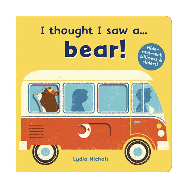 I thought I saw a... bear! (Board book, 영국판)