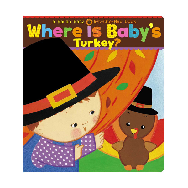 Karen Katz : Where Is Baby's Turkey? (Board book)