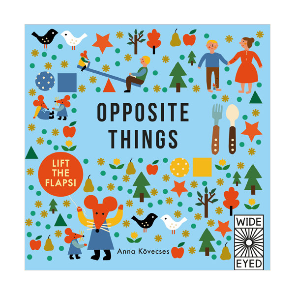Learn with Little Mouse : Opposite Things (Board Book, 영국판)