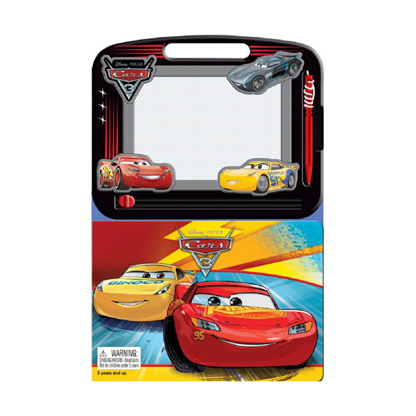 Learning Series : Disney Cars 3 (Board book)