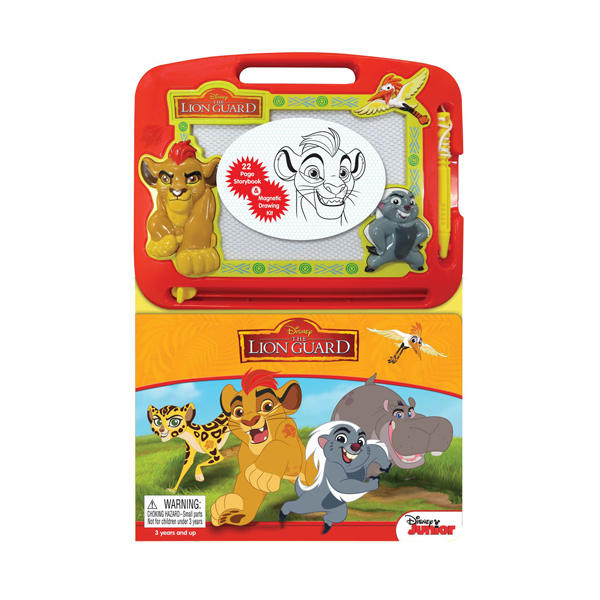 Learning Series : Disney The Lion Guard  (Board book)
