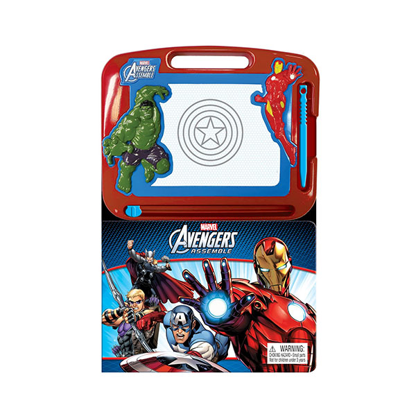 Learning Series : Marvel Avengers Assemble (Board Book)