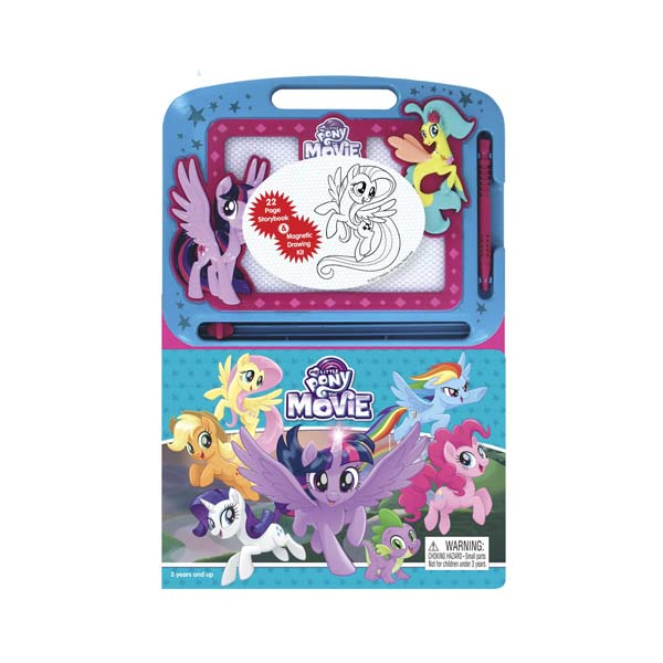 Learning Series : My Little Pony : The Movie (Board book)