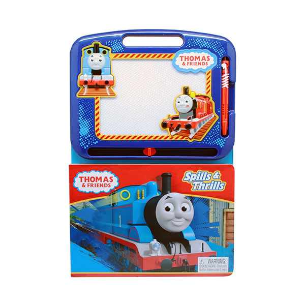 Learning Series : Thomas & Friends Spills & Thrills (Board Book)
