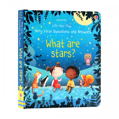 Usborne Lift the Flap : Very First Questions and Answers : What are Stars? (Board book, 영국판)