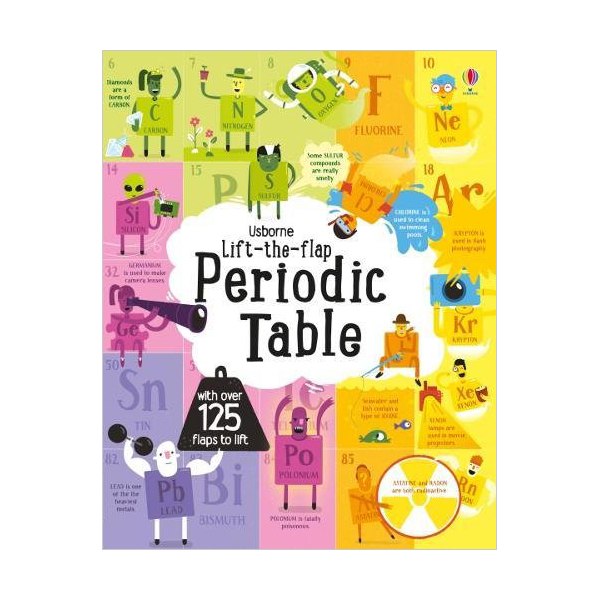 Lift-the-Flap :  Periodic Table (Board book, 영국판)