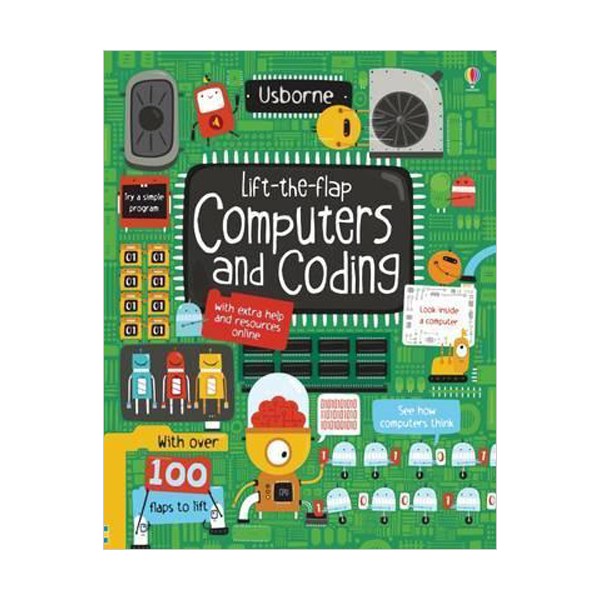 Lift-the-Flap : Computers and Coding (Board book, 영국판)