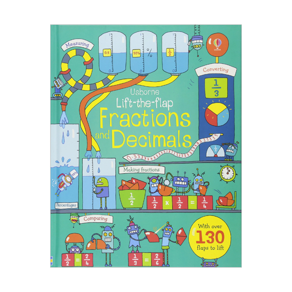 Lift-the-Flap : Fractions and Decimals (Board book, 영국판)