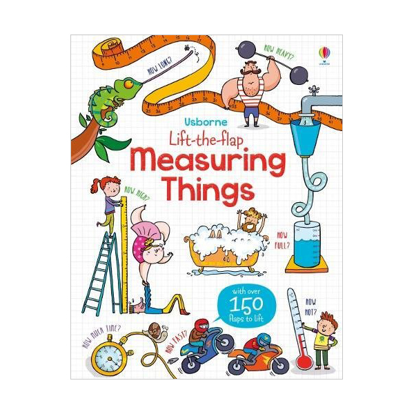Lift-the-Flap : Measuring Things (Board book, 영국판)
