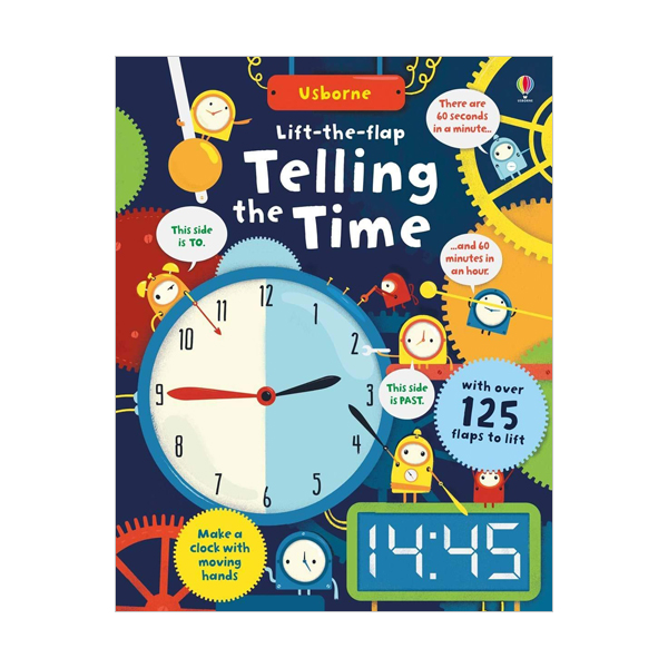 Lift-the-Flap : Telling the Time (Board book, 영국판)