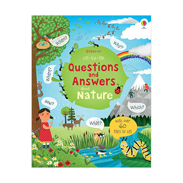 Lift-the-flap Questions and Answers about Nature (Board book, 영국판)