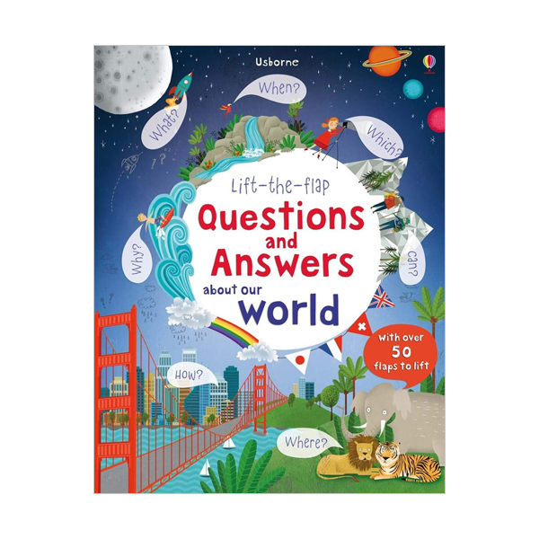 Lift-the-flap Questions and Answers about Our World (Board book, 영국판)
