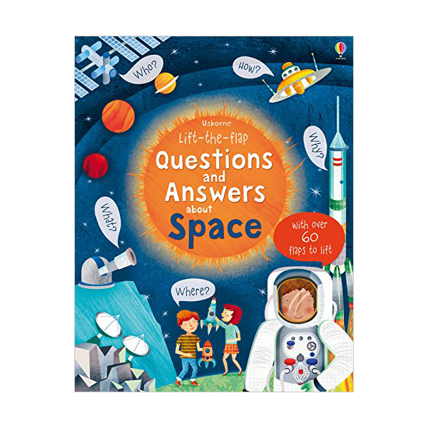 Lift-the-flap Questions and Answers about Space (Board book, 영국판)