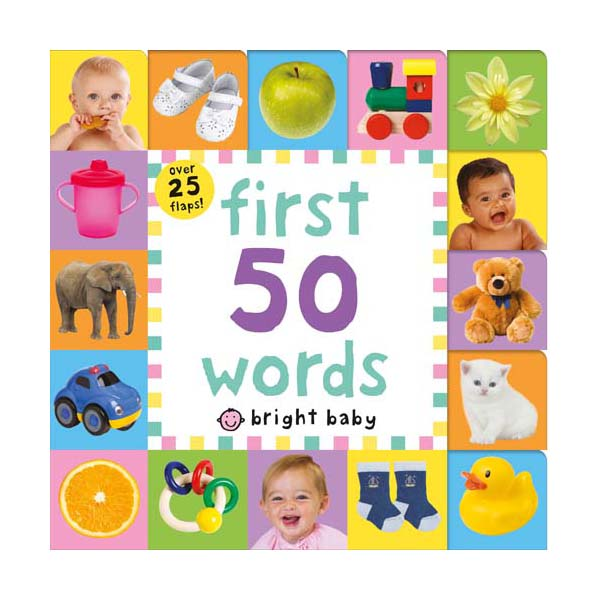Lift-the-Flap Tab : First 50 Words  (Board Books)