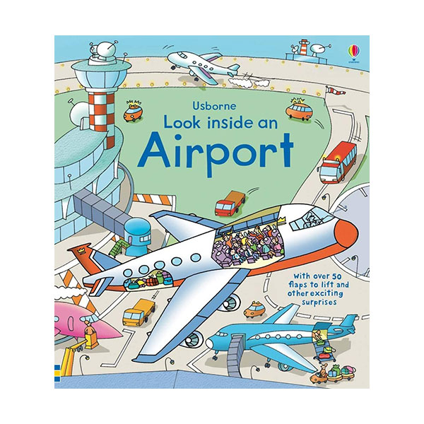 Look Inside : an Airport (Board book, 영국판)