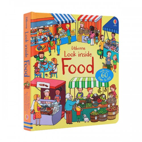 Look Inside : Food (Board book, 영국판)