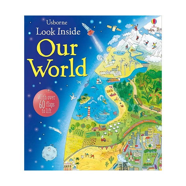 Look Inside : Our World (Board book, 영국판)
