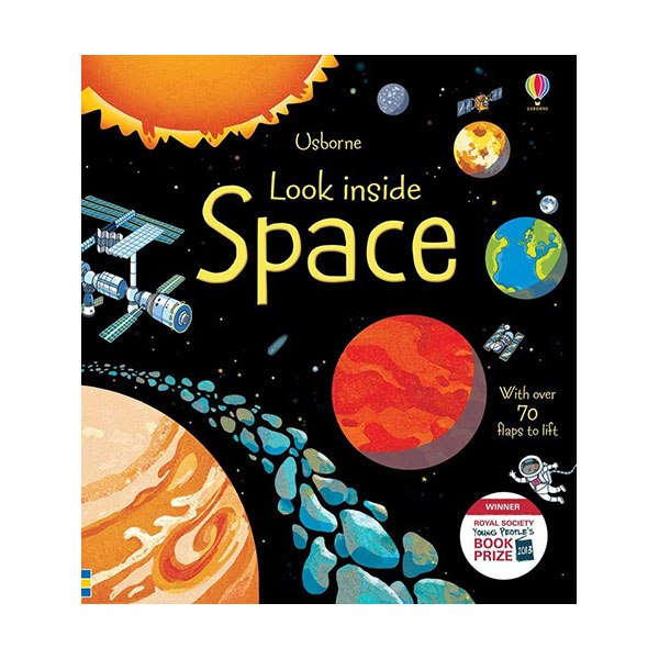 Look Inside : Space (Board book, 영국판)