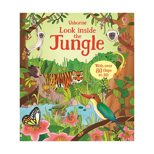 Look Inside : the Jungle (Board book, 영국판)