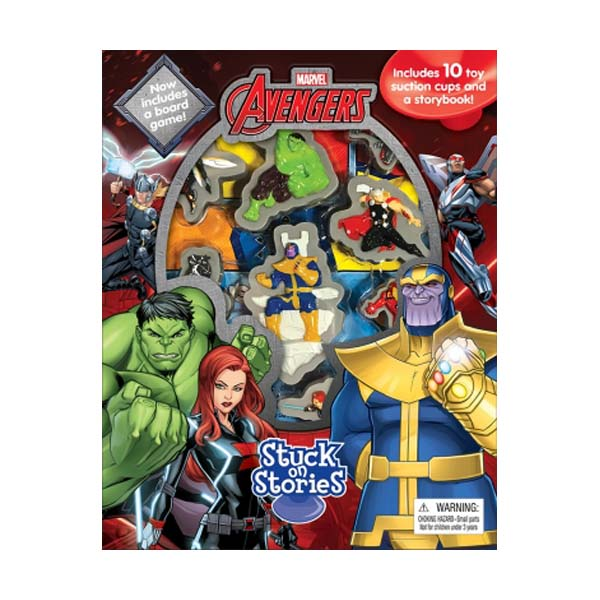 Marvel Avengers Infinity War : Stuck on Stories (Board Book)