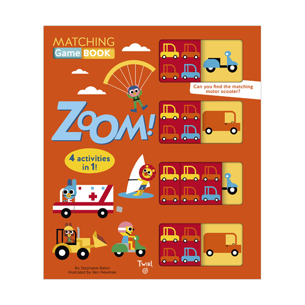 Matching Game Book : Zoom! (Board book)