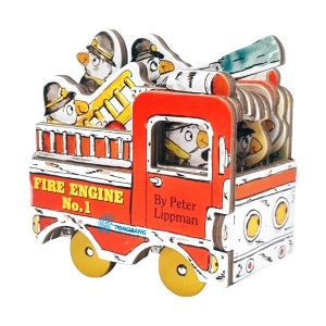Mini Wheel Books : Fire Engine No. 1 (Board Book)
