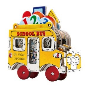Mini Wheels : School Bus (Board Book)