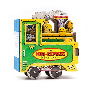 Mini Wheels : The Mini-Express (Board Book)