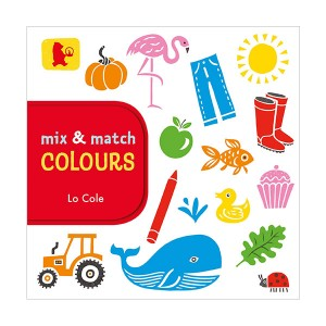 Mix and Match - Colours (Board book)