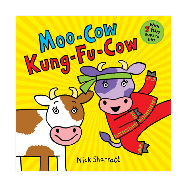 Moo-Cow Kung-Fu-Cow (Board book, 영국판)