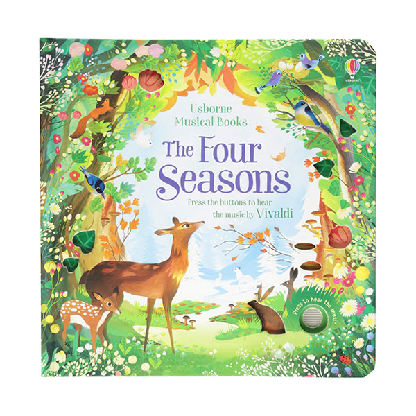 Musical Books : The Four Seasons (Board Book, Sound Book, 영국판)