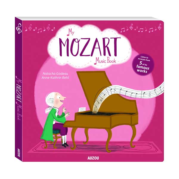 My Amazing Mozart Music Book (Board book, Sound Book)