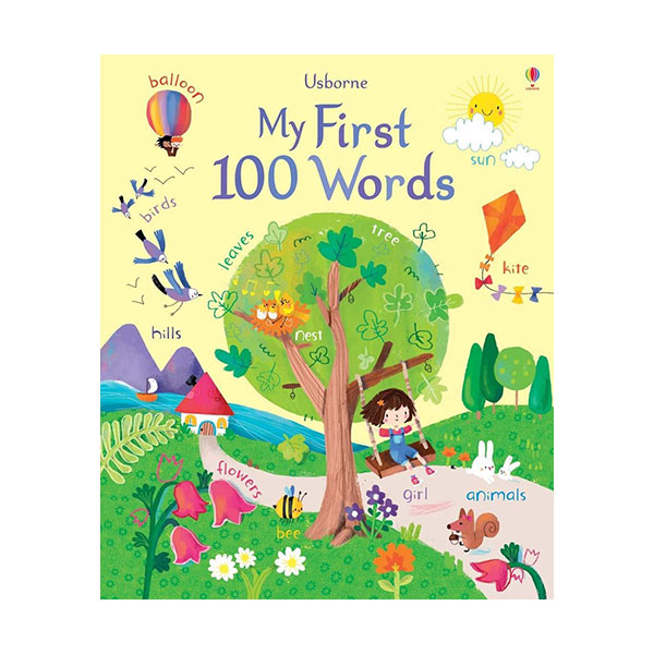 My First 100 Words Book (Board book, 영국판)