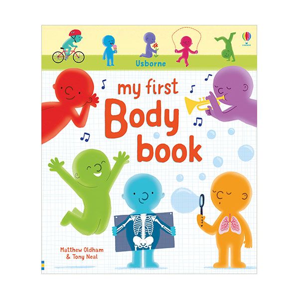 My First Body Book (Board book, 영국판)