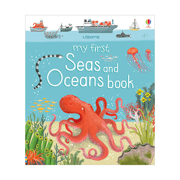 My First Seas and Oceans Book (Board book, 영국판)