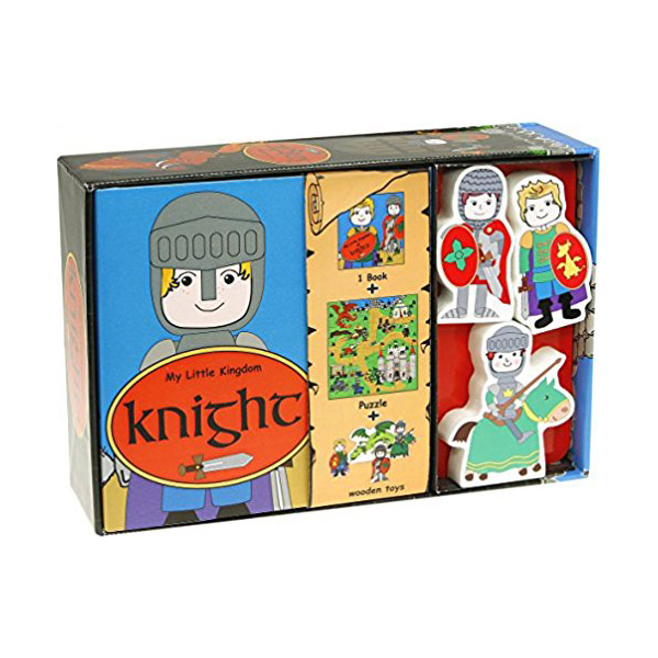 My Little Kindom : Knight (Board book+Toys)