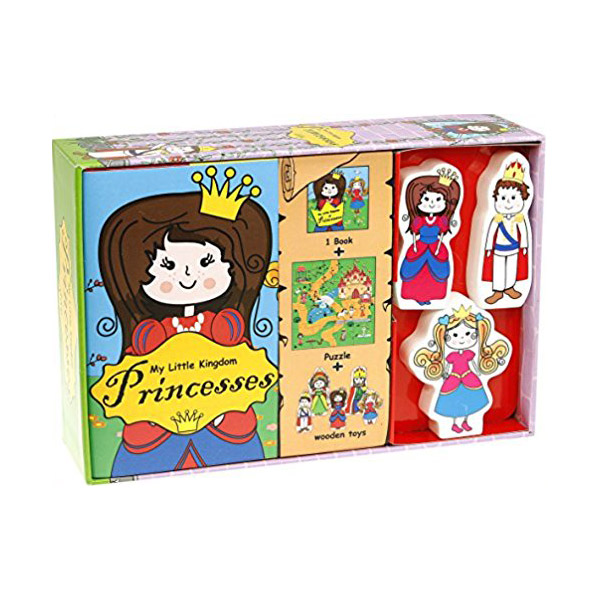 My Little Kindom : Princesses (Board book+Toys)