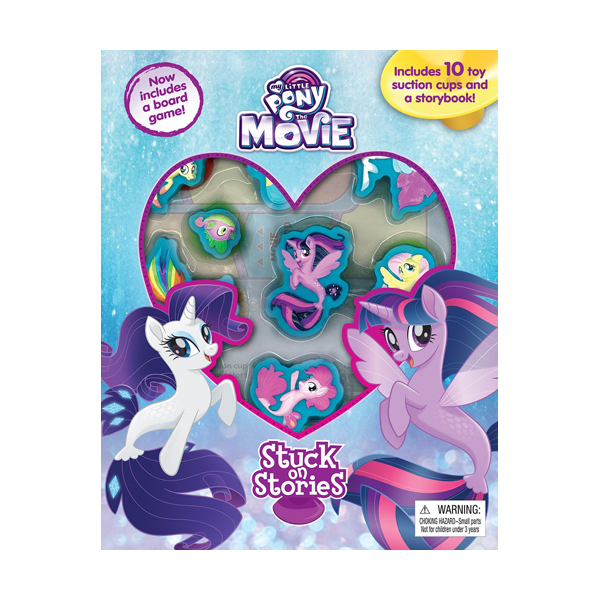 My Little Pony The Movie : Stuck on Stories (Board Book)