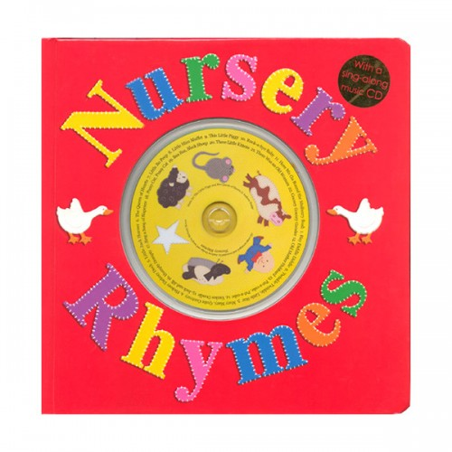 Nursery Rhymes : with a Sing-Along Music CD (Board book)