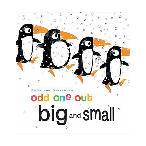 Odd One Out : Big and Small (Board Book)