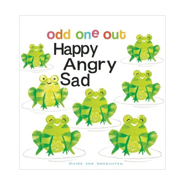 Odd One Out : Happy Angry Sad (Board Book)
