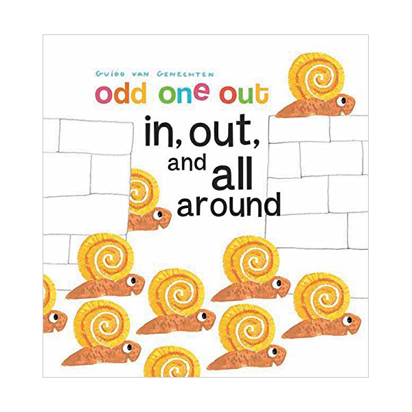 Odd One Out : In, Out and All Around (Board Book)