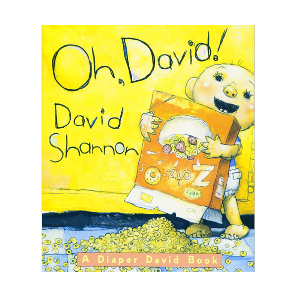 [스콜라스틱] Oh David! : A Diaper David Book (Board Book)