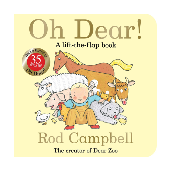 Oh Dear! 35th Anniversary Edition (Board book, 영국판)